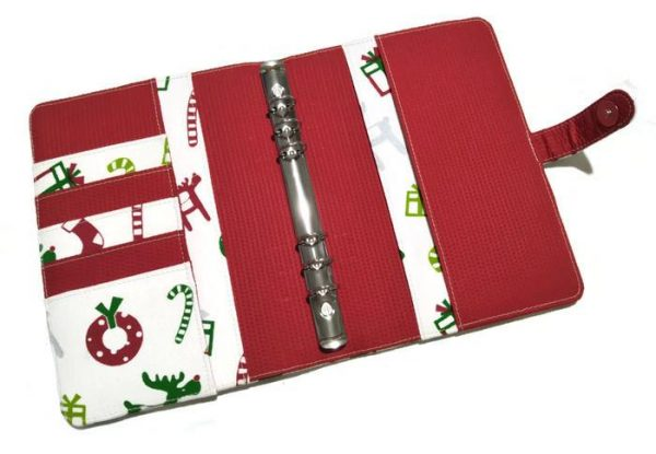 Christmas Planner Wren (a5) open