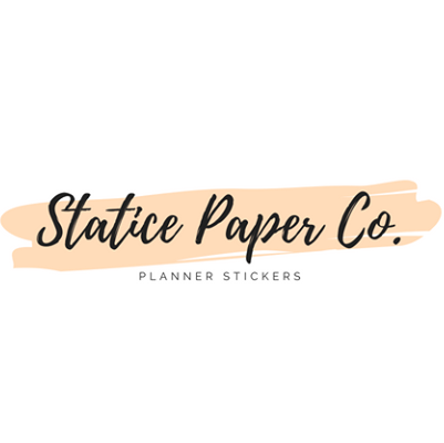 Statice Paper Co Logo