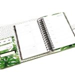 Lime weekly plannre cover - palmetto