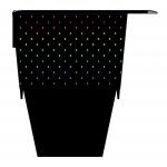 Rainbow Spots Cup case