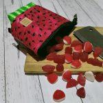 Watermelon cupcase